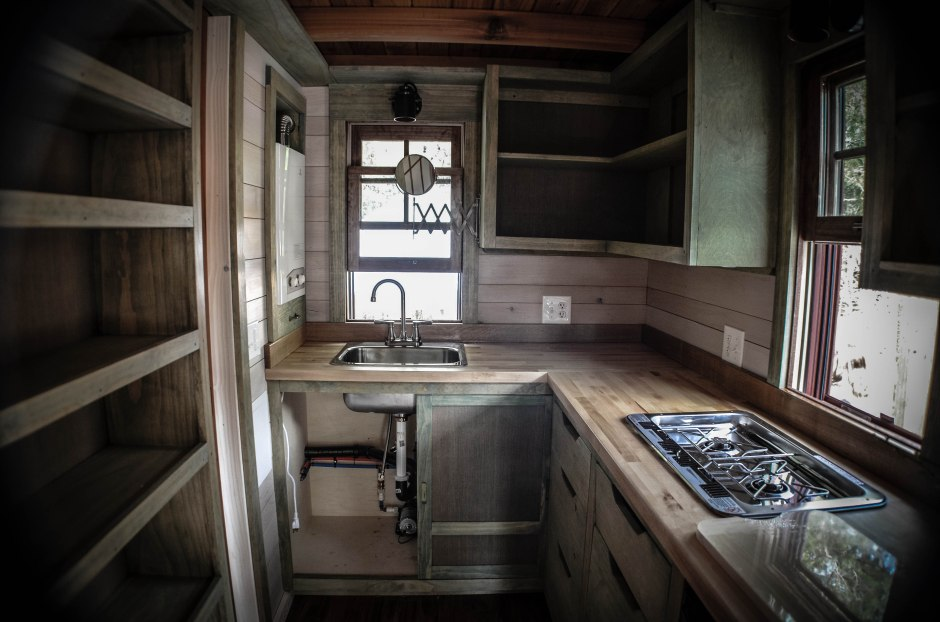 Tiny House Built By Wishbone Homes Kitchen